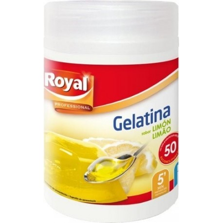 Gelatina neutra Royal tarro 650 grs