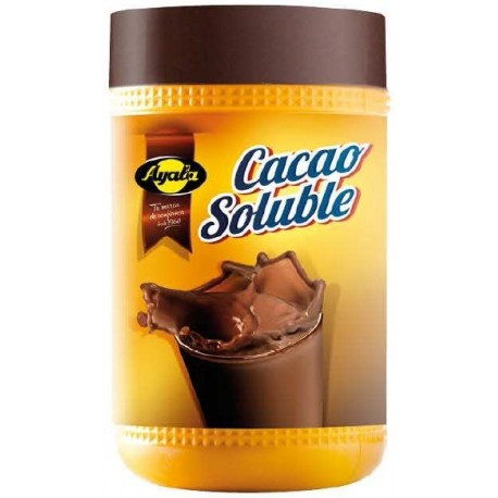 AYALA CACAO SOLUBLE BOTE 900 GRS